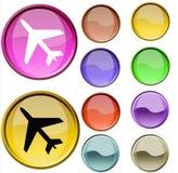 Het Symbool van de vlucht Royalty-vrije Stock Foto's