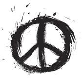Het symbool van de vrede royalty-vrije illustratie