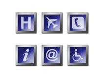 Het Symbool van de Waarschuwing van het teken Stock Fotografie