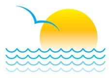 Het Symbool van de zomer royalty-vrije illustratie