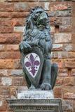 Het symbool van Florence Stock Fotografie