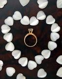 Het symbool van harten Stock Fotografie