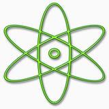 Het symbool van het atoom Royalty-vrije Stock Afbeeldingen