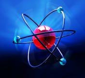 Het symbool van het atoom Stock Foto