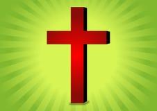 Het symbool van het christendom vector illustratie