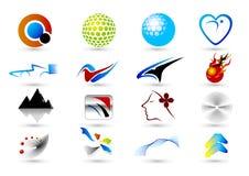Het symbool van het embleem Royalty-vrije Stock Afbeeldingen