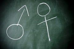 Het symbool van het geslacht Stock Afbeelding