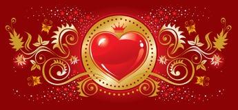 Het symbool van het hart Stock Afbeelding