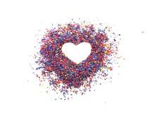 Het symbool van het hart Royalty-vrije Stock Foto's
