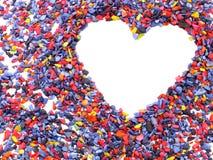 Het symbool van het hart Stock Fotografie