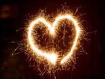 Het symbool van het hart Stock Foto