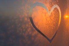 Het symbool van het hart Stock Foto's