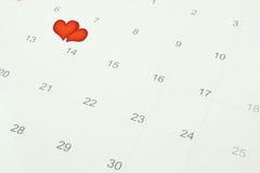 Het symbool van het hart voor de dag van de valentijnskaart royalty-vrije illustratie
