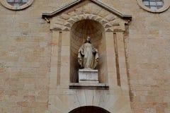 Het symbool van het kerkchristendom Stock Afbeeldingen