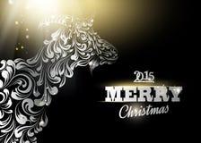Het symbool van het nieuwjaar Royalty-vrije Stock Afbeelding