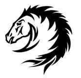 Het symbool van het paard () Stock Afbeeldingen