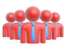 Het symbool van het team stock illustratie