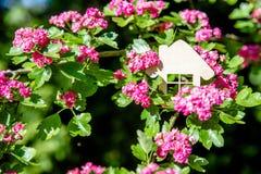 Het symbool van het huis stock afbeelding