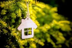 Het symbool van het huis Stock Foto