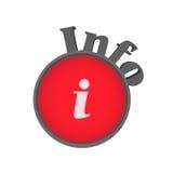 Het symbool van info Royalty-vrije Stock Afbeelding