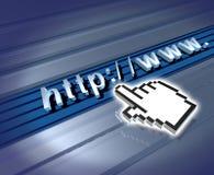 Het symbool van Internet Royalty-vrije Stock Foto's