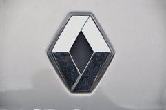 Het symbool van Renault Stock Foto