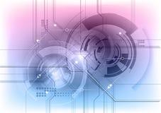 Het symbool van technologie Stock Afbeelding