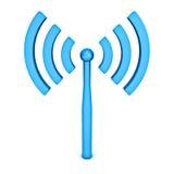 Het symbool van Wifi Royalty-vrije Stock Afbeelding