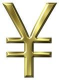 Het Symbool van Yen Stock Afbeeldingen
