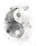 Het symbool van Yin yang Stock Foto