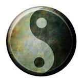 Het symbool van Yin yang vector illustratie