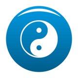 Het symbool van Ying yang van harmonie en saldo vector illustratie