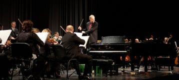 Het Symphonic Orkest MAV presteert Royalty-vrije Stock Foto