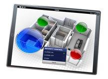 Het systeem app van de huisautomatisering Royalty-vrije Stock Afbeelding