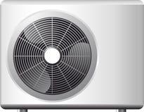 Het systeem van de airconditioning stock illustratie