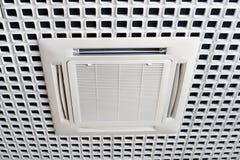 Het systeem van de airconditioning stock foto