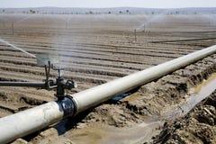 Het systeem van de irrigatie stock afbeelding