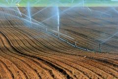 Het systeem van de irrigatie Stock Afbeeldingen