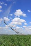 Het systeem van de irrigatie voor landbouw Royalty-vrije Stock Foto