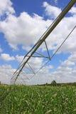 Het systeem van de irrigatie voor landbouw Stock Afbeeldingen
