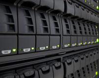Het systeem van de opslag Stock Afbeelding