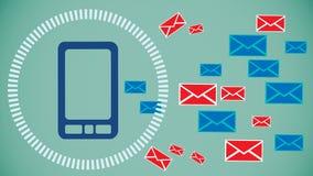 Het systeem van de spambescherming Royalty-vrije Stock Afbeeldingen