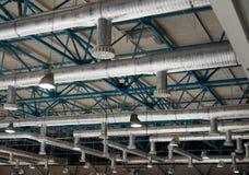 Het systeem van de ventilatie stock foto