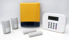 Het Systeem van het Alarm van de Veiligheid van het huis   Royalty-vrije Stock Afbeeldingen