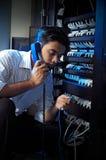 Het systeembeheerder van IT Stock Foto's