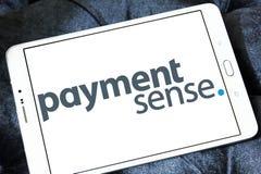 Het systeemembleem van de Paymentsensebetaling royalty-vrije stock foto
