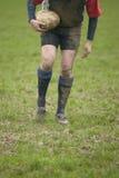 Het T-stuk van het rugby Stock Afbeeldingen