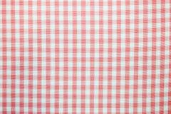 Het tafelkleed van de patroonpicknick Stock Foto