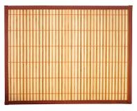 Het Tafelkleed van het bamboe Stock Foto's