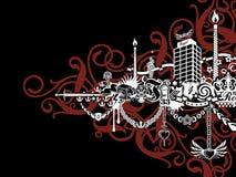 Het Takje van de luxe royalty-vrije illustratie